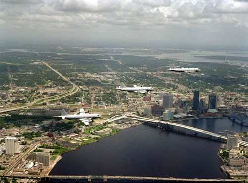 Jacksonville downtown skyline
